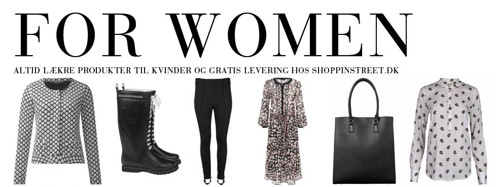 Kvinder modetøj - ShoppinStreet.dk - Østerbrogade København