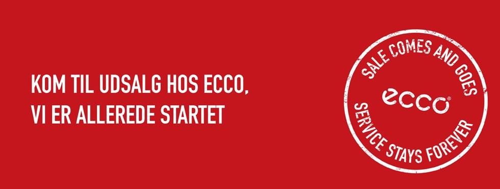 Udsalg på Østerbrogade - ECCO Udsalg